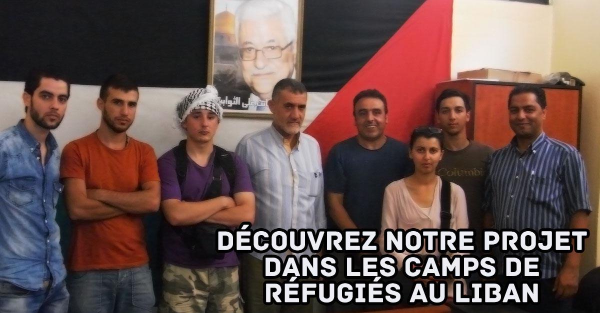 Découvrez notre projet dans les camps de réfugiés palestiniens au Liban Ain Al Hilweh