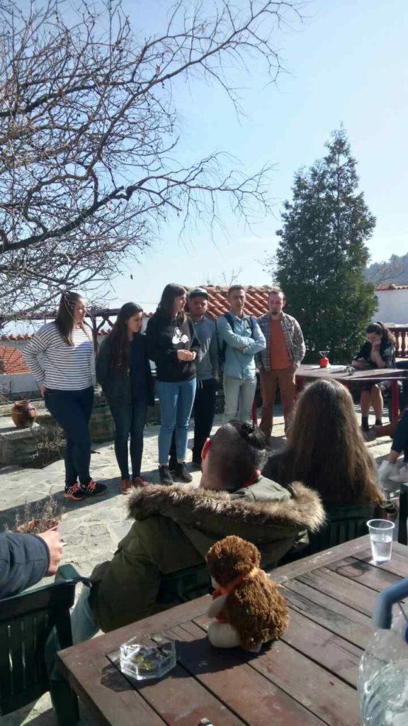 Groupe de participants lors d'un atelier du projet Erasmus+ Tulip Revolution