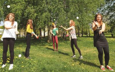6 Jeunes Français en Lettonie pour découvrir le Cirque